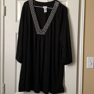 Tunic / Cover Up beaded and embroidered